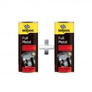 2vnt x Bardahl Full Metal - Trintį mažinantis tepalo priedas 400ml