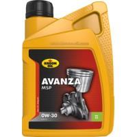 Pilnai Sintetinė Alyva Kroon-Oil Avanza MSP 0W-30 1L