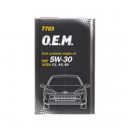 MANNOL 7703 O.E.M. for Peugeot Citroen 5W-30 4L