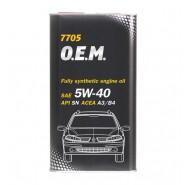 MANNOL 7705 O.E.M. for Renault Nissan 5W-40 1L