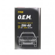 MANNOL 7705 O.E.M. for Renault Nissan 5W-40 4L