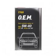 MANNOL 7705 O.E.M. for Renault Nissan 5W-40 4L