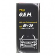 MANNOL 7715 O.E.M. for VW, AUDI, SKODA 5W-30 1L