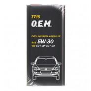 MANNOL 7715 O.E.M. for VW, AUDI, SKODA 5W-30 1L