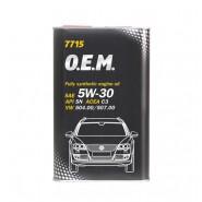 MANNOL 7715 O.E.M. for VW, AUDI, SKODA 5W-30 5L