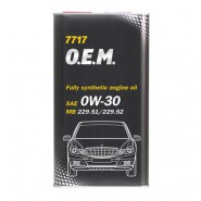 MANNOL 7717 O.E.M. for Mercedes Benz 0W-30 1L