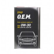 MANNOL 7717 O.E.M. for Mercedes Benz 0W-30 4L