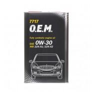 MANNOL 7717 O.E.M. for Mercedes Benz 0W-30 4L