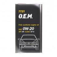 MANNOL 7721 O.E.M. for Honda Acura 0W-20 1L