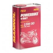 MANNOL 7832 4-Takt Powerbike 15W-50 1L