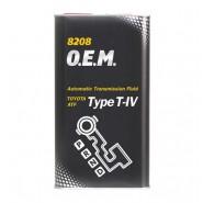 MANNOL 8208 O.E.M. for Toyota Lexus TYPE T-IV 1L