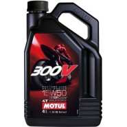 MOTUL 300V 15W50 FACTORY LINE 4T 4L