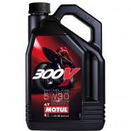 MOTUL 300V 5W30 FACTORY LINE 4T 4L