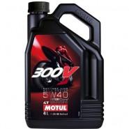 MOTUL 300V 5W40 FACTORY LINE 4T 4L