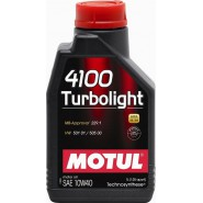 MOTUL 4100 TURBOLIGHT 10W40 1L