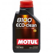 MOTUL 8100 ECO-CLEAN 0W30 1L