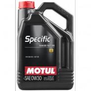 MOTUL SPECIFIC 504 00 507 00 0W30 5L