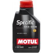 MOTUL SPECIFIC 505 01-502 00 5W40 1L