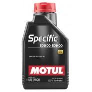 MOTUL SPECIFIC 508 00 509 00 0W20 1L
