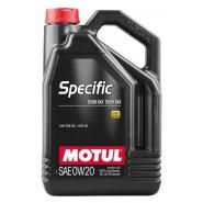 MOTUL SPECIFIC 508 00 509 00 0W20 5L