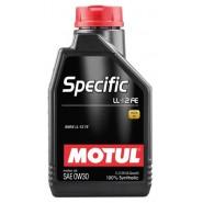 MOTUL SPECIFIC LL-12 FE 0W30 1L
