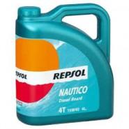 REPSOL NAUTICO Diesel Board 4T 15W40 CP-4 4L