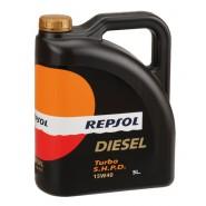 REPSOL TURBO DIESEL SHPD 15W40 5L