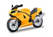 Motociklams, vandens transportui